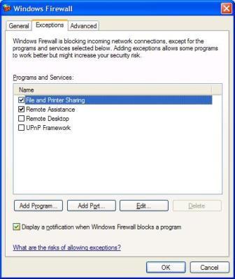 Firewall Options