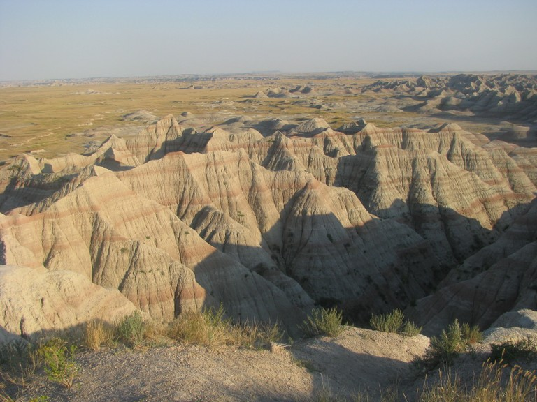 thats how Badlands look